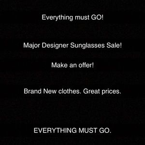 LISTED A TON OF DESIGNER SUNGLASSES AT GREAT PRICE